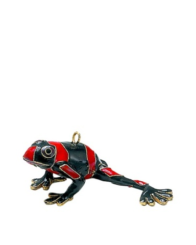 Cloisonné Dart Frog Ornament