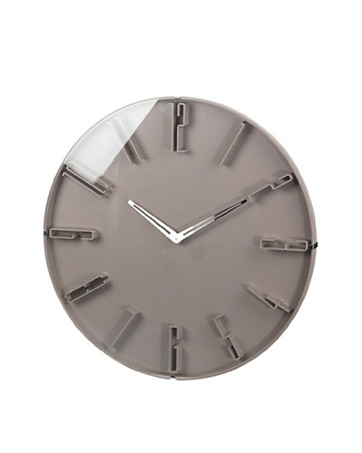 Raised Numbers Wall Clock, 16""