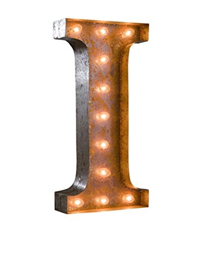24 Vintage-Inspired Letter I Marquee Light