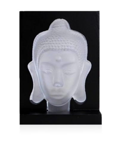 Buddha Candle Holder, White