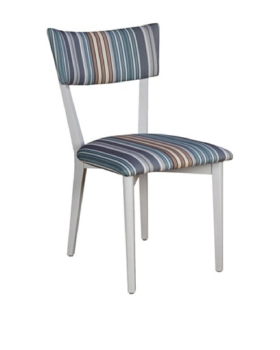Armless Dining Chair, White