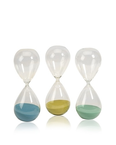 Set of 3 Paroles Large Hourglasses