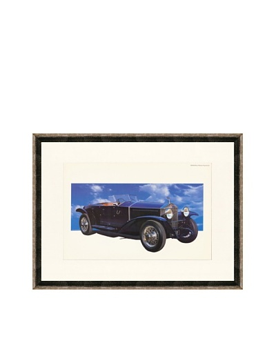 1928 Rolls-Royce Phantom I Experimental Illustration
