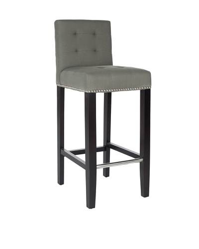 Safavieh Mercer Collection Marcus Leather Barstool