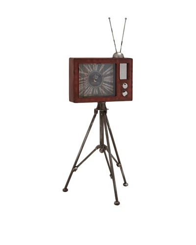 Television Table Clock