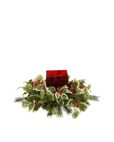 Holiday Garden Candle Ring
