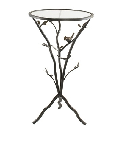 Glass Bird Table