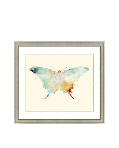 Watercolor Butterfly Framed Giclée Print