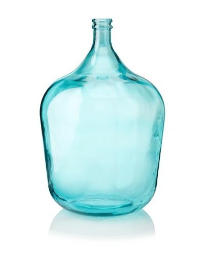 Glass 21 Vase, Teal
