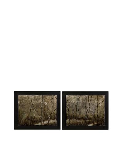 Set of 2 CKI Melor Frames Oil Paintings