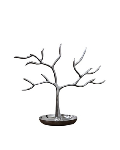 Athena Tree Jewelry Holder, Chrome