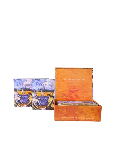 Set of 3 Cezanne Boxed Notecard Collections