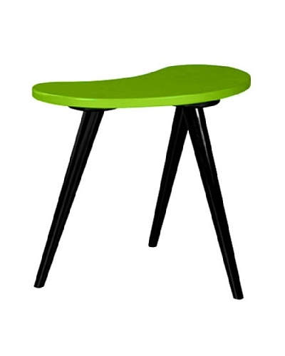 Small Curve Side Table, Green