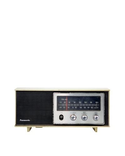 Vintage Panasonic Radio, Tan
