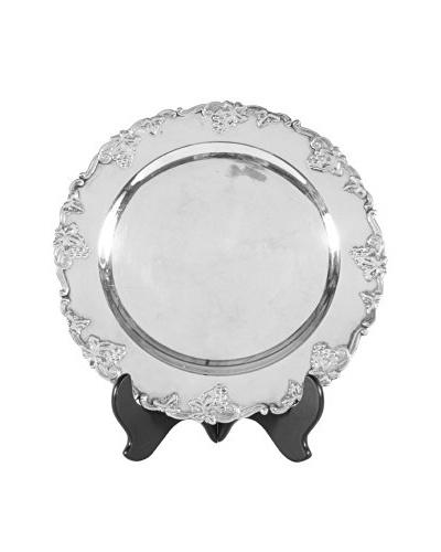 Danish Silver Plate Platter, Silver