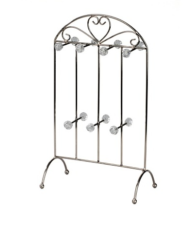 Heart 14-Arm Jewelry Stand