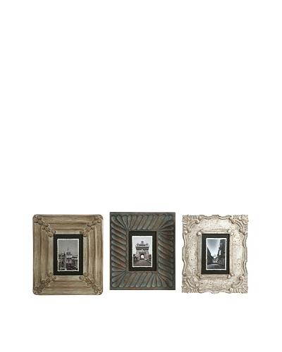 Set of 3 Aiden Hand Carved Frames