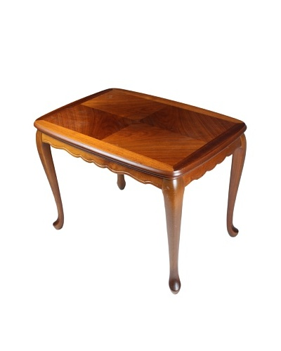 Matched Mahogany End Table, Brown