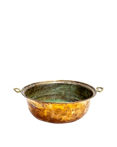 Vintage Copper Bowl, c. 1900s