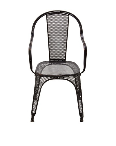 Metal Black Chair