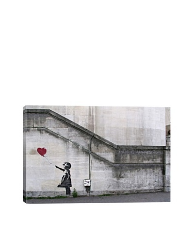 Banksy There Is Always Hope Balloon Girl Canvas Print
