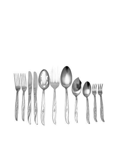 Vintage Castlecourt Stainless 11-Piece Set, c.1950s
