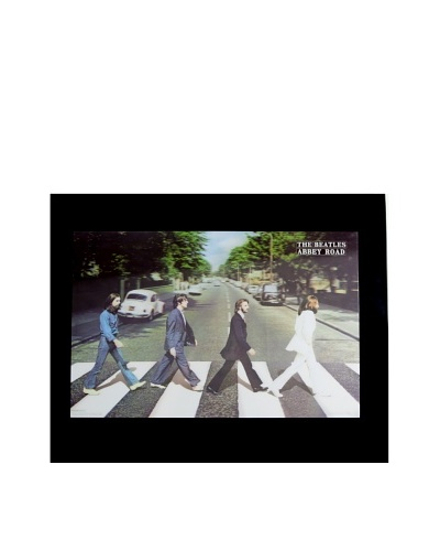 The Beatles Abbey Road Framed 3-D Hologram PosterAs You See