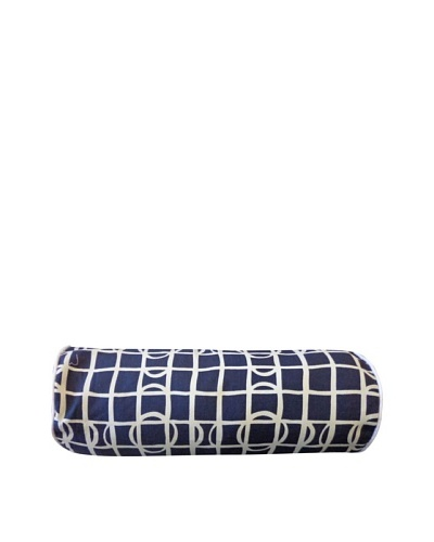 Pluto Throw Pillow, Navy