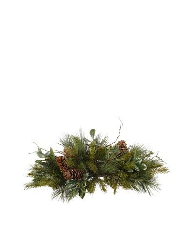 Winter Foliage Centerpiece