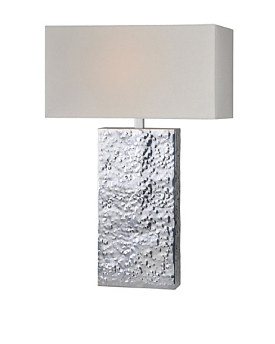 Ashby Lamp, Plate Silver