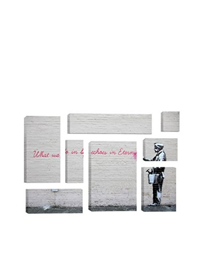 Banksy What We Do In Life Echoes In Eternity 8-Piece Giclée On Canvas