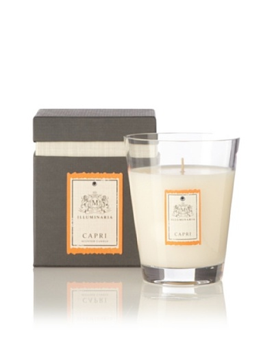 Illuminaria Scented Candle Jar In Gift Box, Capri, 12 Oz.