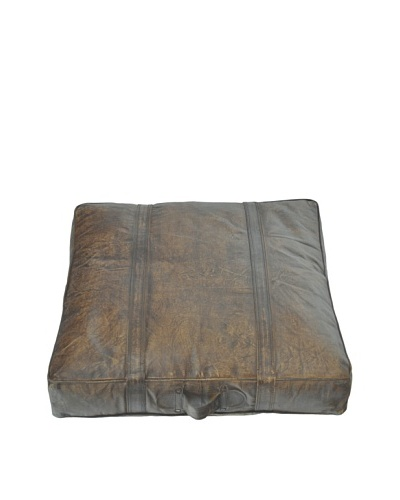 Steeplechase Floor Pillow, Brown
