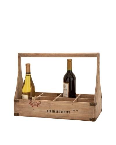 Wooden Wine Basket