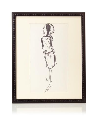 Michel Goma Fashion SketchAs You See