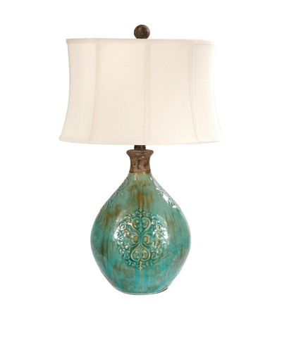 Linnet Table Lamp, Azure BlueAs You See