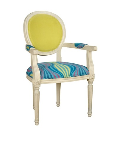 Lousia Arm Chair, white