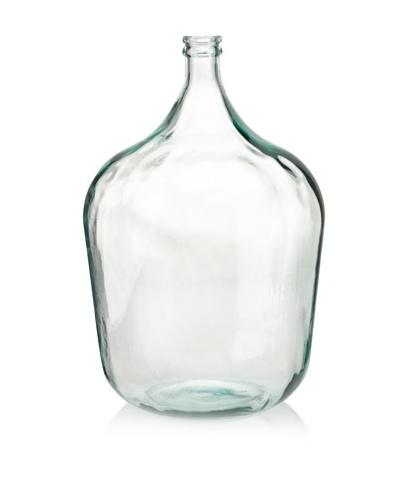 """Glass 21"""" Vase, Light Green"""