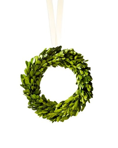 Small Boxwood Topiary Wreath