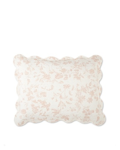 Brighton Pillow Sham [Rose]