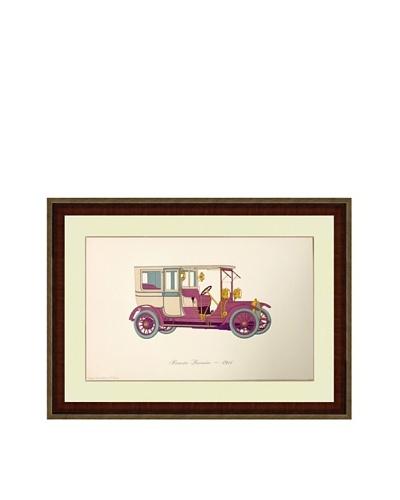 1911 Brewster Limousine Print (1965)