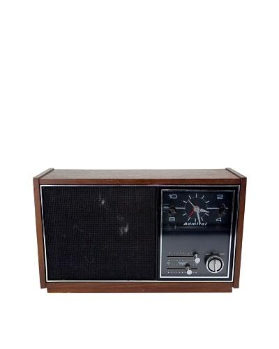 Vintage Admiral Radio, Brown
