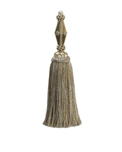 14 Tassel Stand, Ivory/Gold