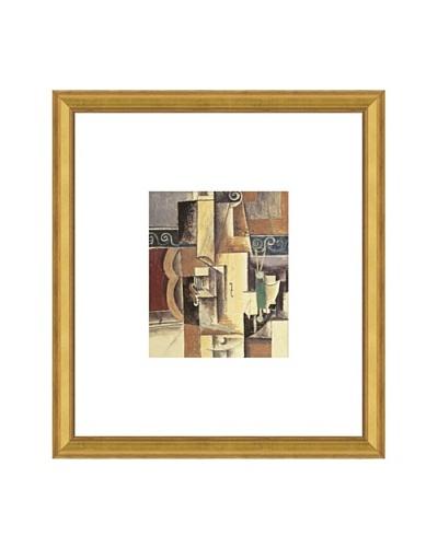 Pablo Picasso Violin and Guitar Framed Art