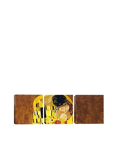 The Kiss by Gustav Klimt (Panoramic), 48 x 16As You See