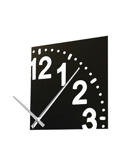 Infinity Wall Clock with Chrome Hands., 12As You See