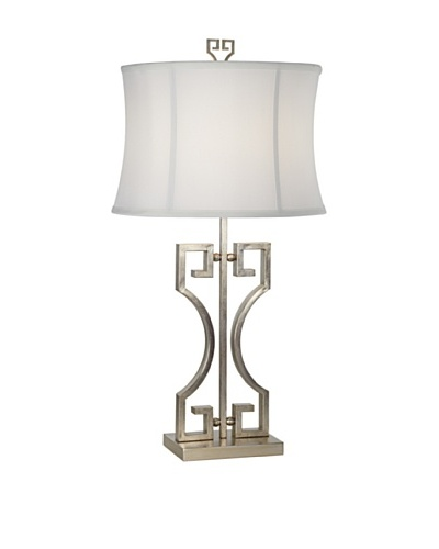 Macau Nights Table Lamp - Silver