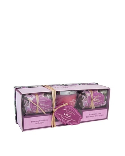Castelbel Ambiante Stargazer Lily Soap & Candle Gift Set