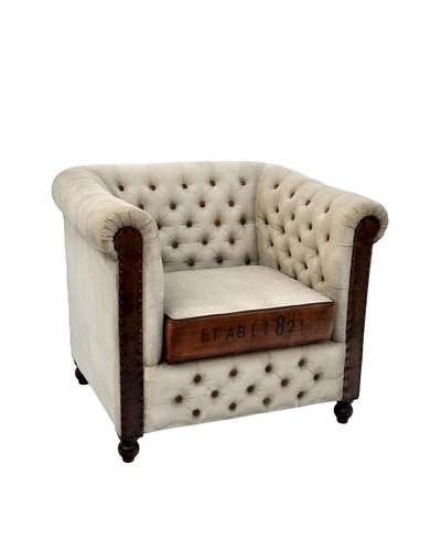 Hudson Club Chair, Natural