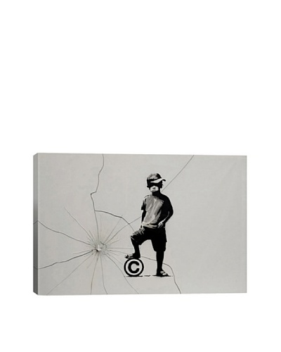 Banksy Copyrights Are For Losers Canvas Print